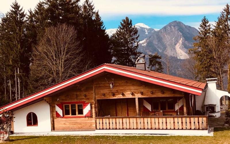 Luxusberghütte mit Sauna und 2 Bäder in wunderschöner Alleinlage – Nähe Reith im Alpbachtal